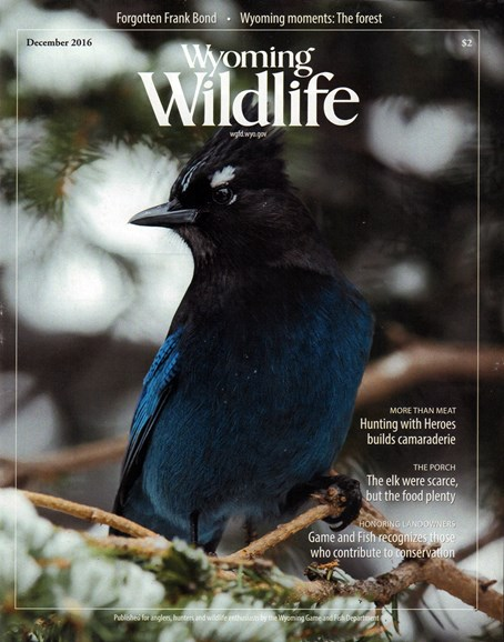Wyoming Wildlife Cover - 12/1/2016