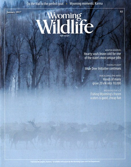 Wyoming Wildlife Cover - 1/1/2017