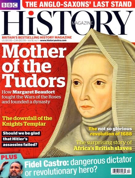 BBC History Cover - 1/1/2017