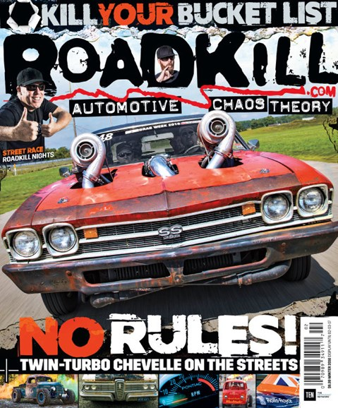 Roadkill Cover - 12/1/2016
