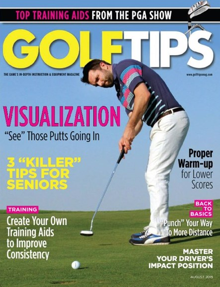Golf Tips Cover - 8/1/2015
