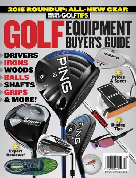 Golf Tips Cover - 5/1/2015