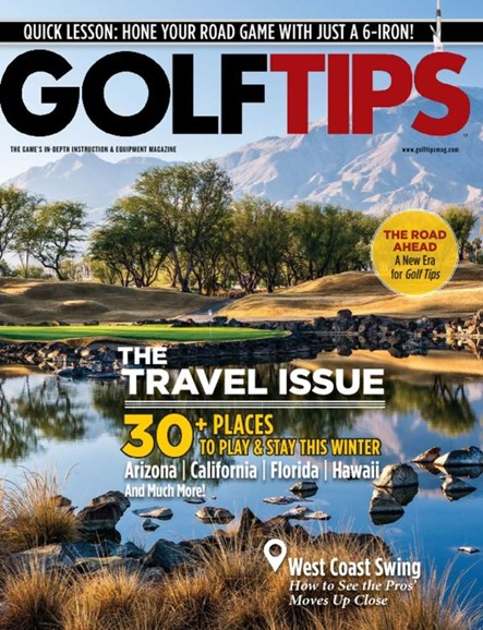 Golf Tips Cover - 9/1/2015