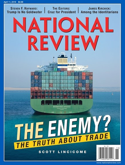 National Review Cover - 4/11/2016