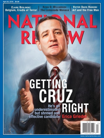 National Review Cover - 4/25/2016