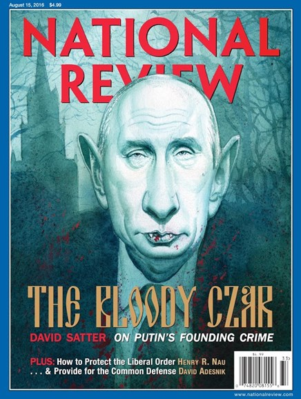National Review Cover - 8/15/2016