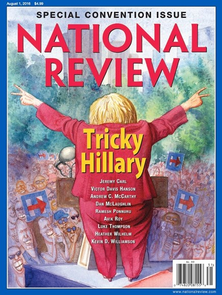 National Review Cover - 8/1/2016