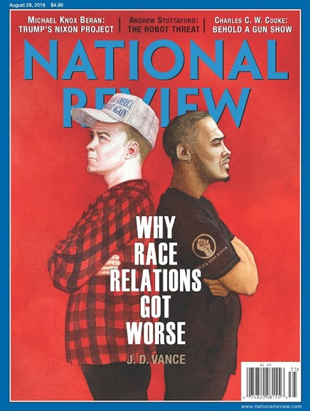 National Review Cover - 8/29/2016