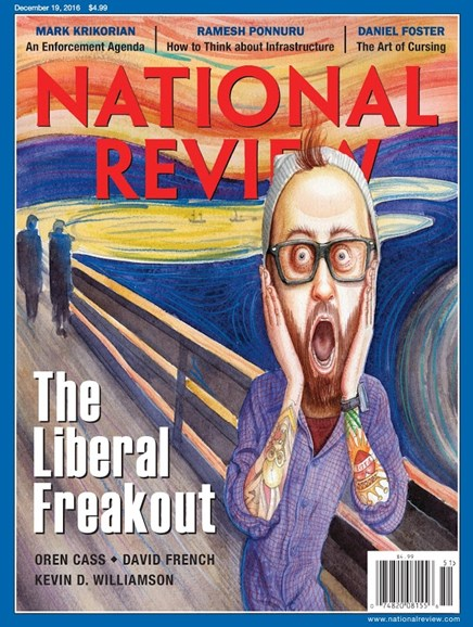 National Review Cover - 12/19/2016