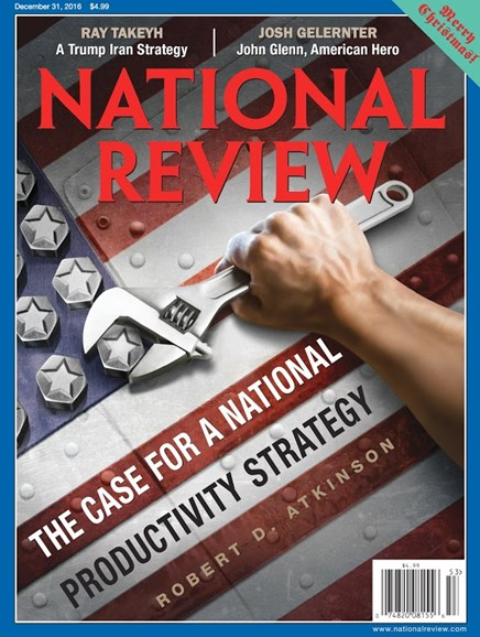 National Review Cover - 12/31/2016