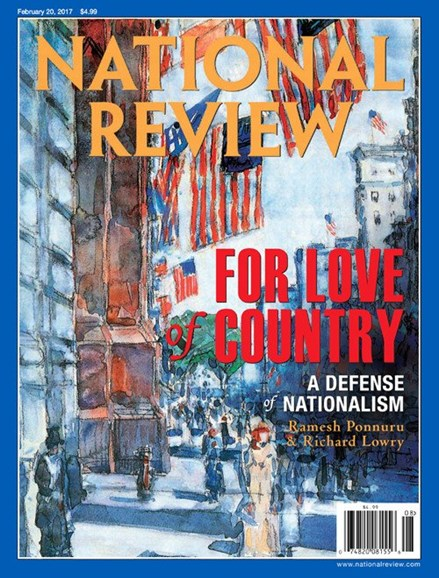 National Review Cover - 2/20/2017