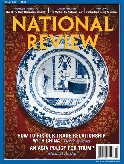 National Review Cover - 2/6/2017
