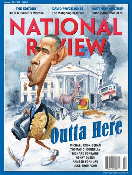 National Review Cover - 1/23/2017