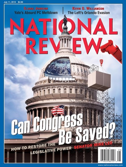 National Review Cover - 7/11/2016