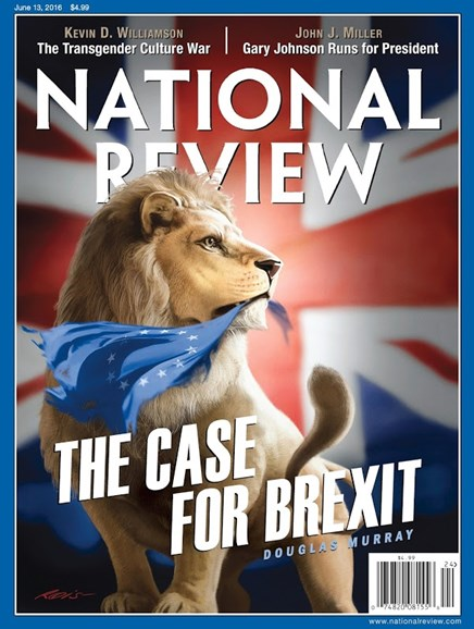 National Review Cover - 6/13/2016