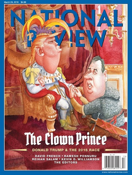 National Review Cover - 3/28/2016