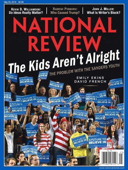 National Review Cover - 5/23/2016