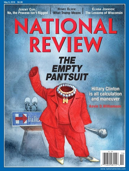 National Review Cover - 5/9/2016