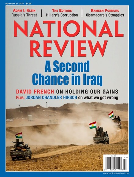 National Review Cover - 11/21/2016