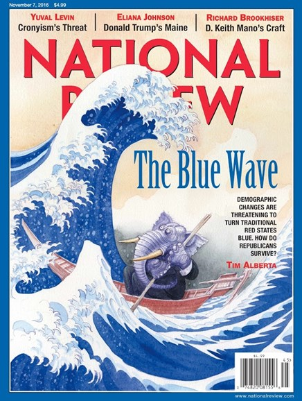 National Review Cover - 11/7/2016