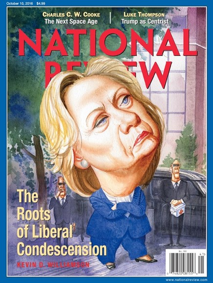 National Review Cover - 10/10/2016