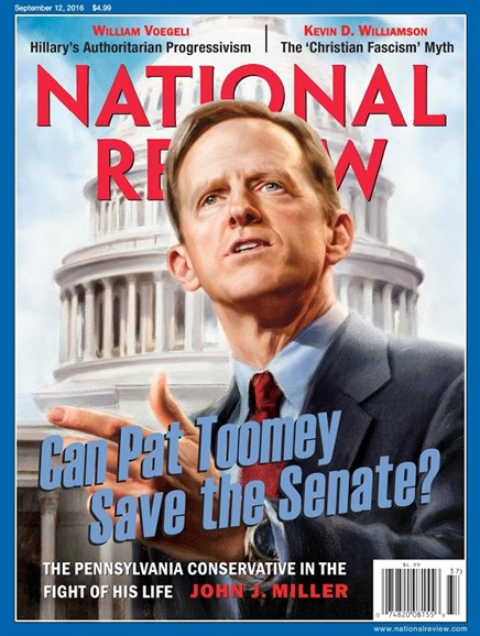 National Review Cover - 9/12/2016