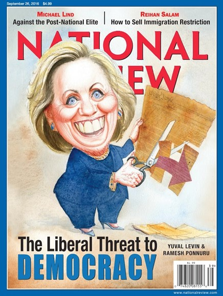 National Review Cover - 9/26/2016