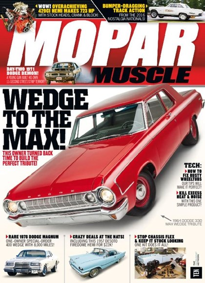 Mopar Muscle Cover - 1/1/2017