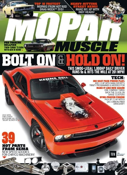 Mopar Muscle Cover - 4/1/2016