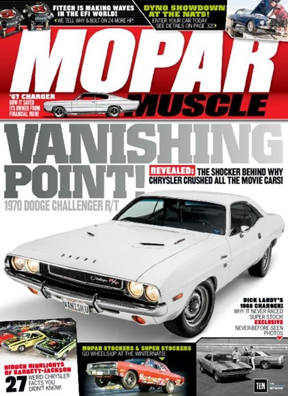 Mopar Muscle Cover - 8/1/2016