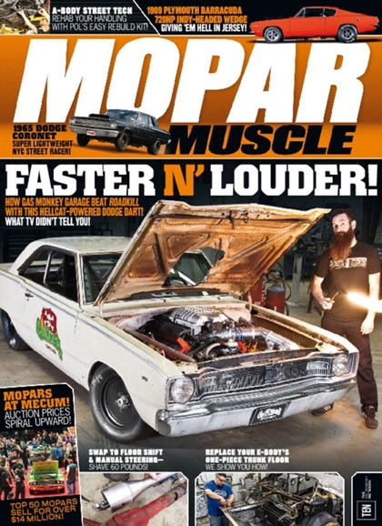 Mopar Muscle Cover - 7/1/2016