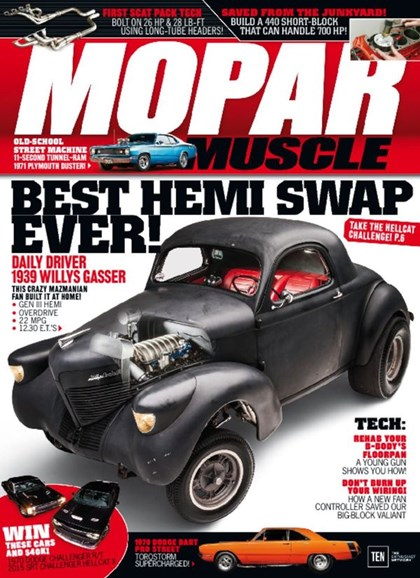 Mopar Muscle Cover - 3/1/2016