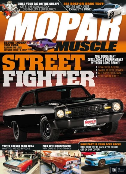 Mopar Muscle Cover - 5/1/2016
