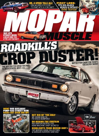 Mopar Muscle Cover - 11/1/2016