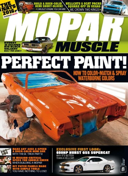 Mopar Muscle Cover - 9/1/2016