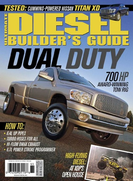 Ultimate Diesel Builder's Guide Cover - 12/1/2016