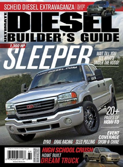 Ultimate Diesel Builder's Guide Cover - 10/1/2016