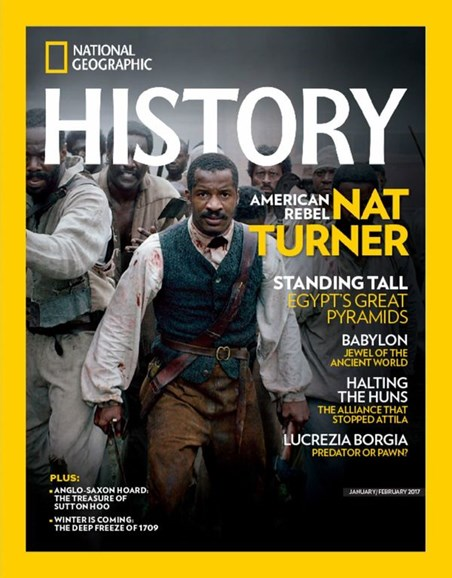 National Geographic History Cover - 1/1/2017