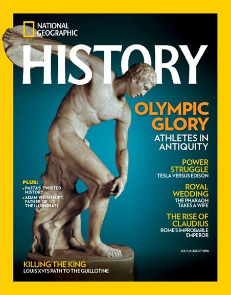 National Geographic History Cover - 7/1/2016