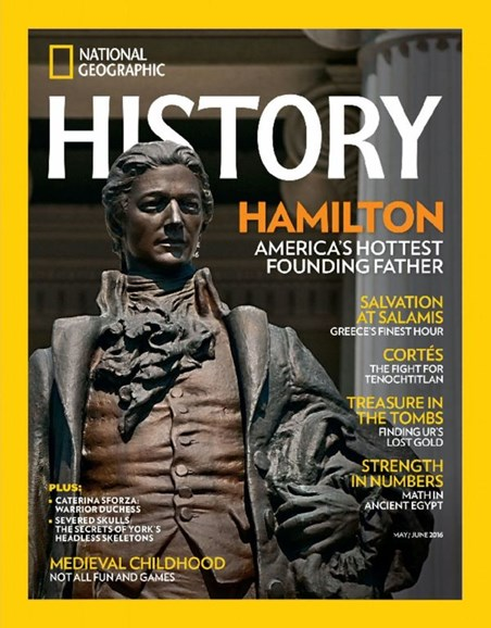 National Geographic History Cover - 5/1/2016