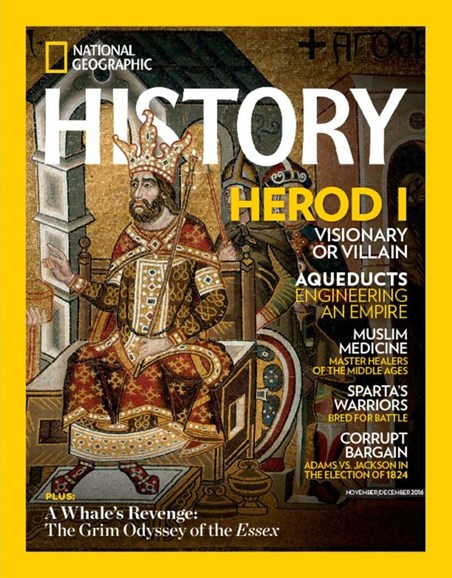 National Geographic History Cover - 11/1/2016