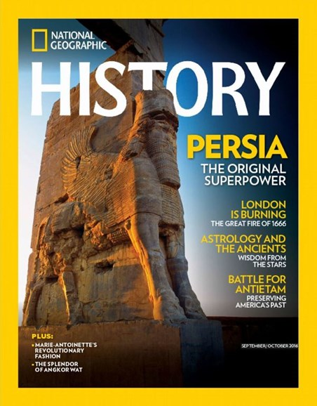 National Geographic History Cover - 9/1/2016