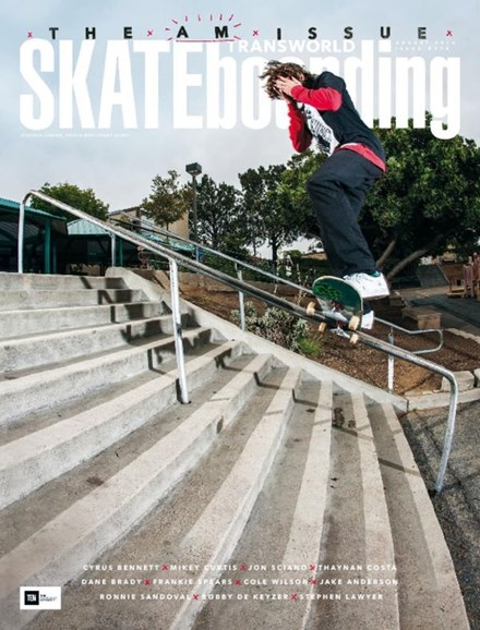 Transworld SKATEboarding Cover - 8/1/2016