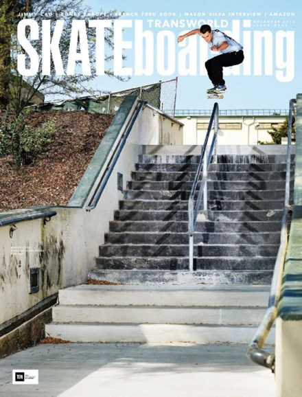 Transworld SKATEboarding Cover - 12/1/2016