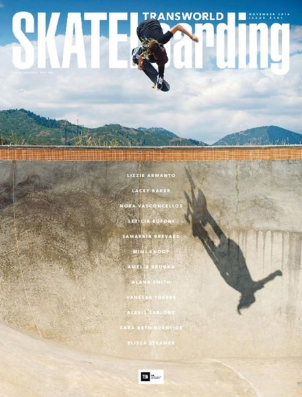 Transworld SKATEboarding Cover - 11/1/2016