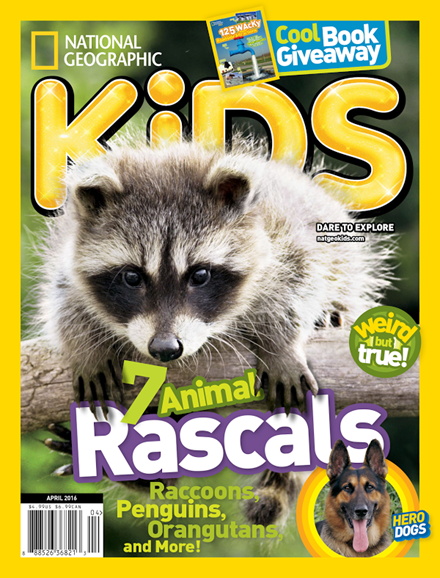 National Geographic Kids Cover - 4/1/2016