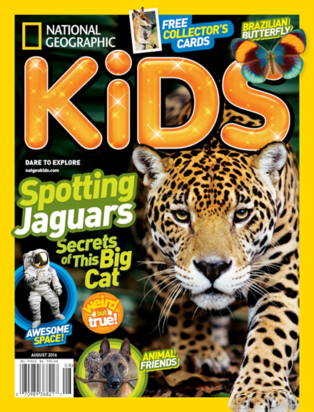 National Geographic Kids Cover - 8/1/2016