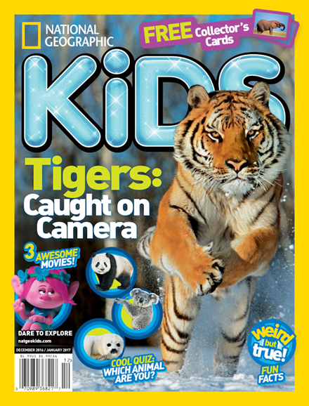 National Geographic Kids Cover - 12/1/2016