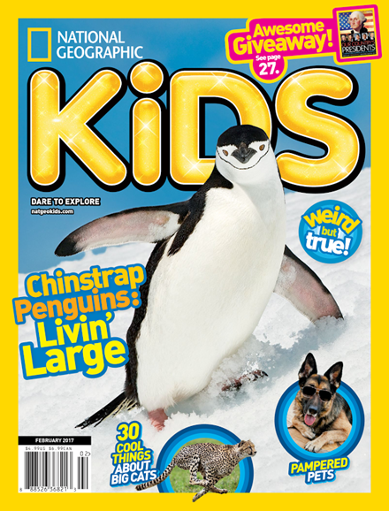 National Geographic Kids Cover - 2/1/2017