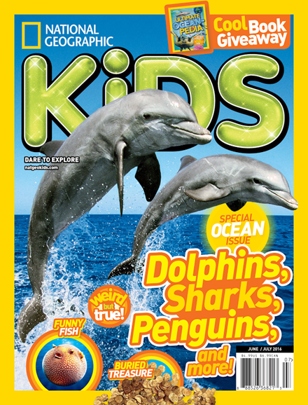 National Geographic Kids Cover - 6/1/2016